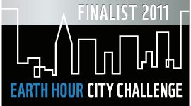 Växjö was one of the finalists in Earth Hour City Challenge 2011
