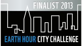 Chicago was one of the finalists in Earth Hour City Challenge 2013