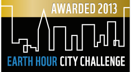 Uppsala was awarded the title National Earth Hour Capital in Earth Hour City Challenge 2013