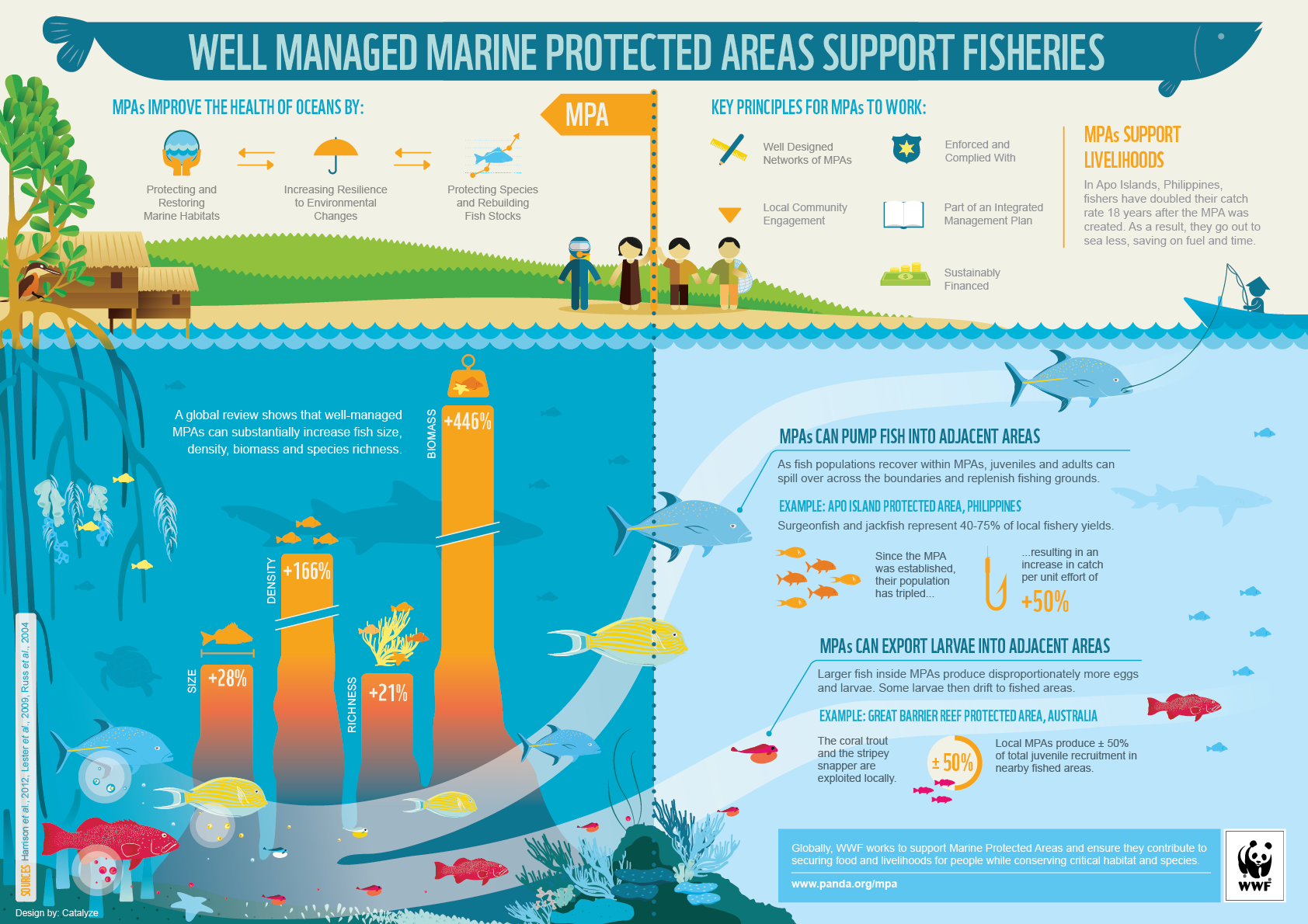 Fisheries benefits of MPAs in tropical ecosystems