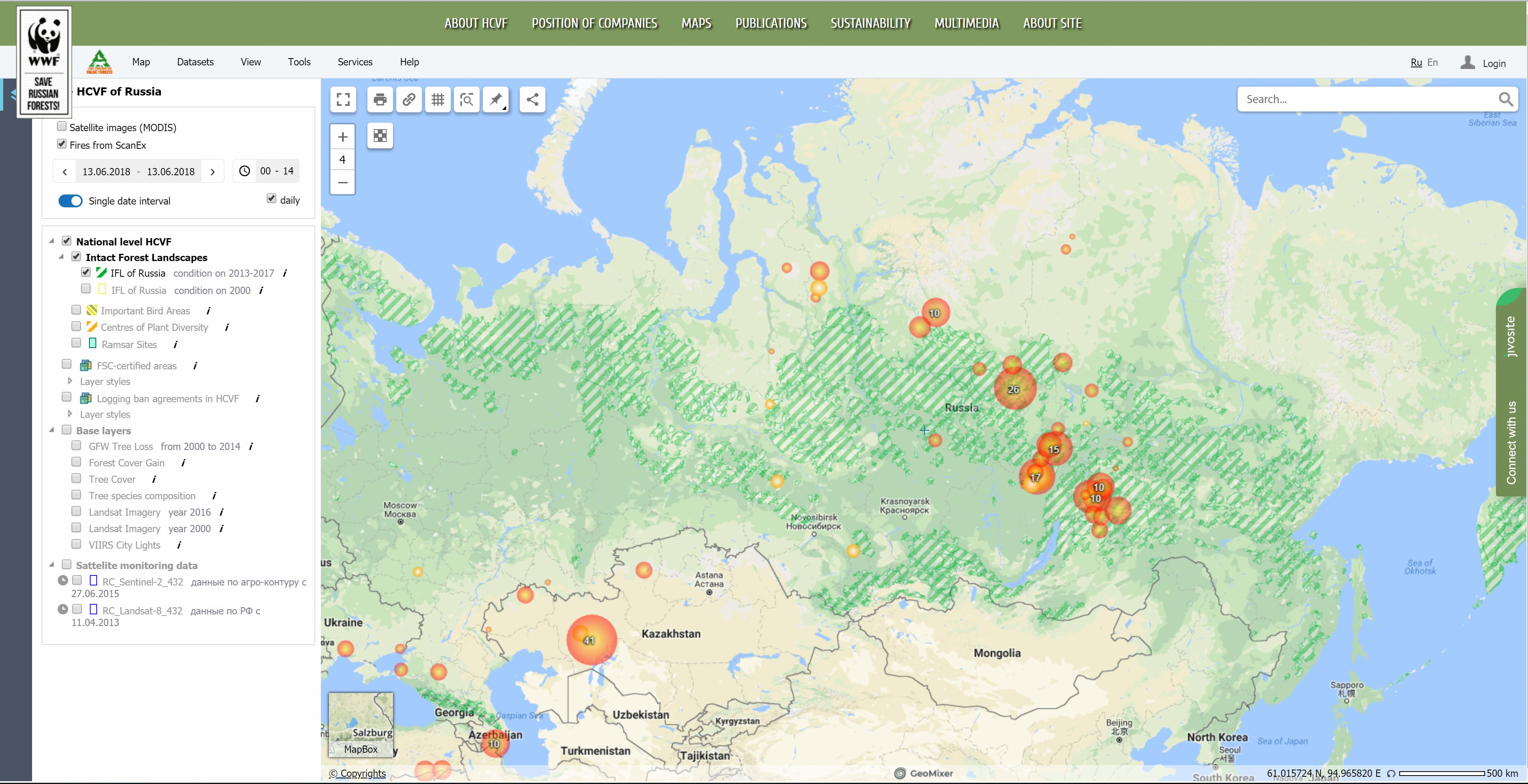 In Russia\'s wild forests a good map helps everyone see the ...