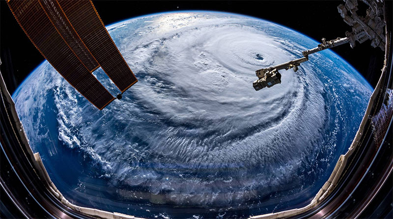 Foto: Huracán Florence - Tomada de El País - https://elpais.com/internacional/2018/09/12/actualidad/1536773984_864011.html