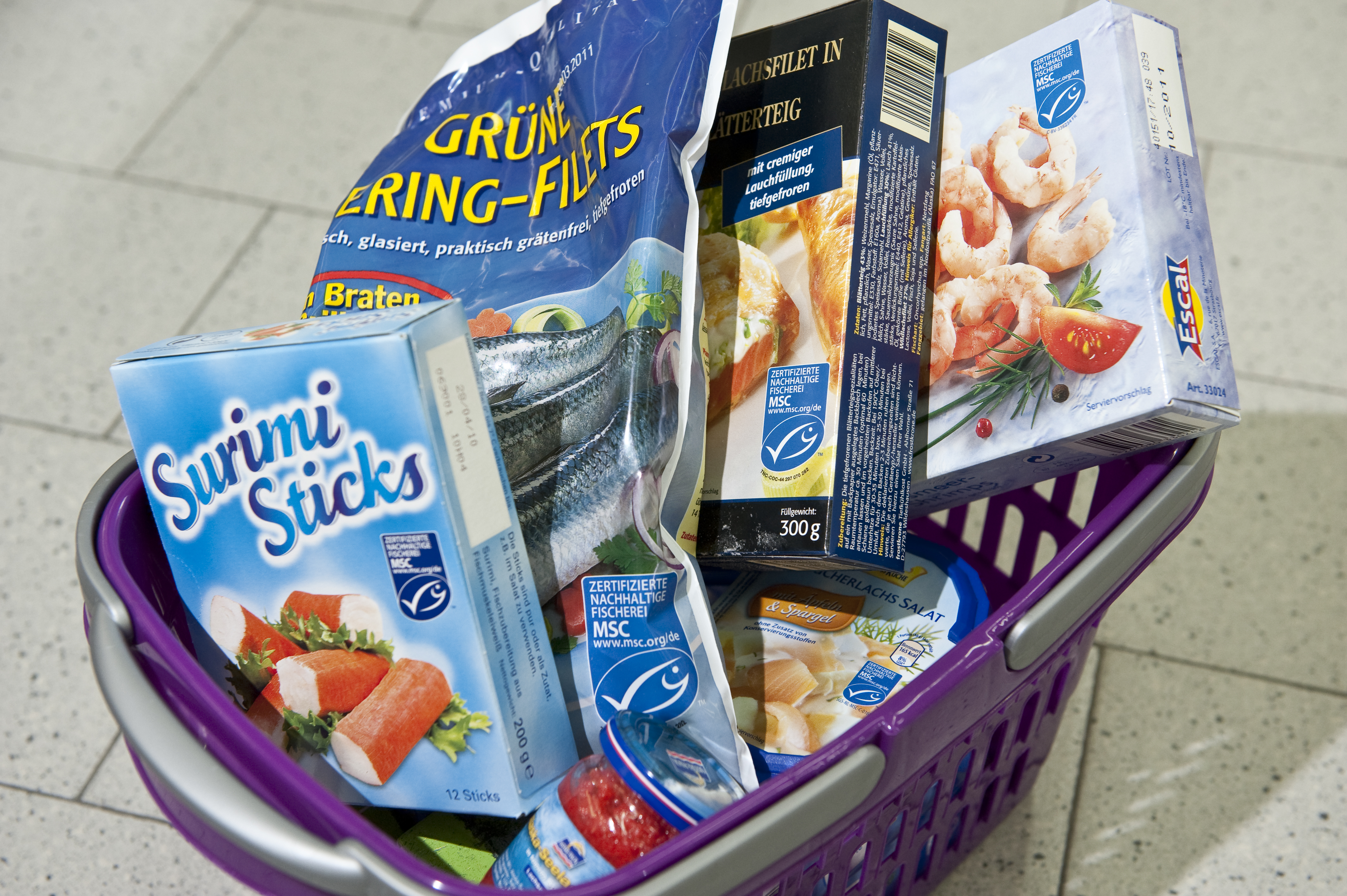Wwf marine stewardship council msc wild seafood for Fishpond products