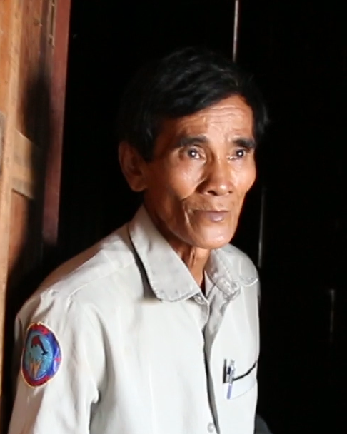 Mr. Sok Lang, river guard and dolphin tour guide