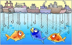 Overfishing / &copy;: WWF