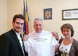 The Minister of Environment and Forests of Romania Mr. Laszlo Borbely has given his assurance that the fate of virgin forests will be one of the priorities of his Ministry in the short, medium and long term.