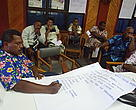 Strategy planning at the Draiba Hall in Levuka