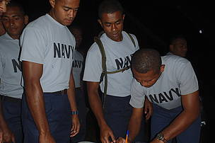 Team Navy sign up