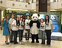 Voluntarios en el Stand de OPA! en el Shopping del Sol / ©: WWF Paraguay