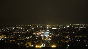 Panoramic view of Yerevan (before lights out)