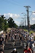 """Bicicleteada por """"La Hora del Planeta"""" / ©: Chacomer"""