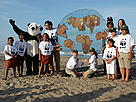 WWF's peaceful event &quot;Sunset Down on Addington Beach in Durban.  / &copy;: WWF / Franko Petri 