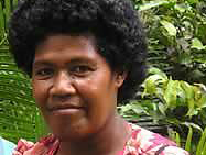 Penina Moce, WWF Climate Witness