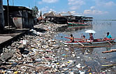 Coastal littering. Philippines. / &copy;: WWF-Canon / Jrgen FREUND 