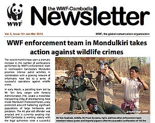 WWF Cambodia Newsletter / ©: WWF Cambodia