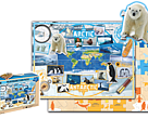 Game wwf  artic puzzle- terra toys