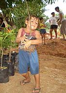 Reforestation, Paraguay / &copy;: Cinthya Arias for WWF Paraguay