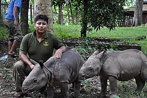 Rupak Maharjan, Ranger/Field Coordinator, Chitwan National Park, Nepal