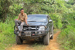 Safri, a ranger in Royal Belum State Park, Malaysia