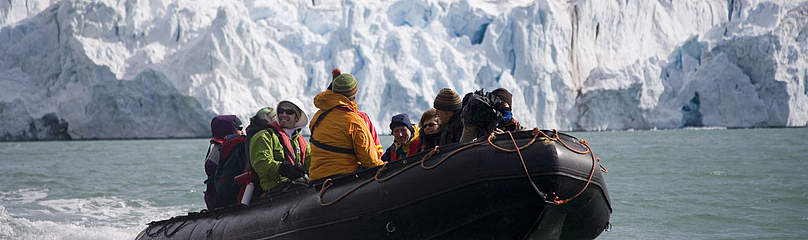 Voyage for the Future 2008, Spitsbergen, Norway / ©: WWF-Canon / Sindre Kinnerød
