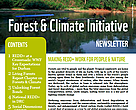 Forest & Climate Initiative newsletter