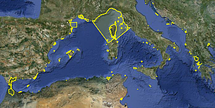 Marine Protected Areas cover 4% of the Mediterranean Sea. It is not enough, we need to reach 10% by ... / ©: MedPAN