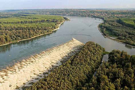 The Danube-Drava confluence between Serbia and Croatia. / ©: Mario Romulic