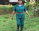 Sidonie Asseme has been a game ranger since 2006