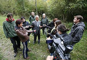 Press trip to Special Nature Reserve Gornje Podunavlje in Serbia, 2012.