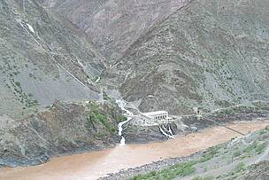 Small scale hydropower in China.