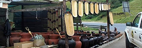 Souvenirs - traditional handcrafts, such as pots and beadwork, can provide income for local ... rel=