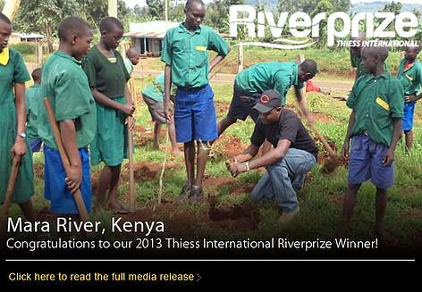Mara River Water Users' Association wins Thiess International River Prize rel=