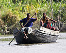 Fishers, Sundarbans National Park, Bangladesh.