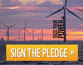 Sign the pledge / ©: Global Warming Images / WWF-Canon