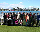El taller regional se realiza en la ciudad de Valdivia, en el sur de Chile.