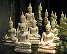 Thai ivory Buddhas