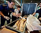 Seized Shipment of Illegal African Elephant Tusks, Thailand