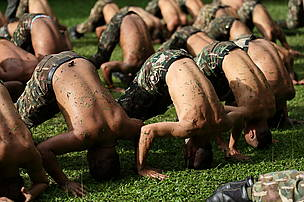 Rangers in training, Thailand