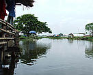 That Luang Marsh in Lao PDR,