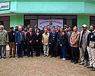 Government officials from India and Nepal participating in the 6th Indo-Nepal consultative meeting on transborder tiger and wildlife conservation, 7-8 January 2013