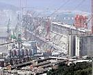 The Three Gorges Dam on the Yangtze will cause more than 1.3 million people to lose their homes and destroy the habitat of many endangered aquatic species.