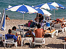 Tourists beach in Kemer, Mediterranean Sea, Turkey. / &copy;: WWF-Canon / Michel GUNTHER