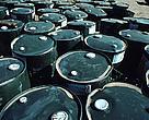 Toxic waste barrels dumped in the desert, Ar-Tnr Natural Reserve, Niger.