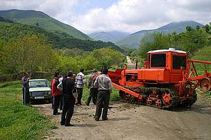 Tractor for Nerkin Hand Community in Syunik