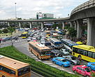 Traffic jam in Bangkok!