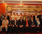 Attendees at the first meeting of the Heart of Borneo Joint Technical Committee on Transboundary Protected Areas