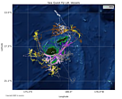 visualising vessels tracks of Fiji fishing operations