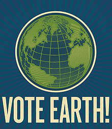Vote Earth! / &copy;: WWF