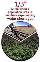 One third of the world's population lives in countries experiencing water shortages / ©: WWF