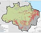Brazilian Amazon deforestation until 2010. Original data source: Brazilian National Space Research Institute (INPE)